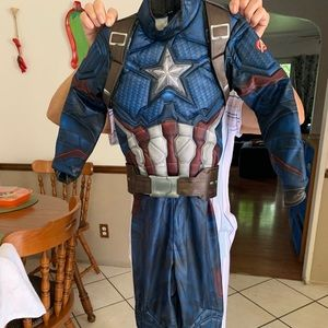 Captain America endgame costume